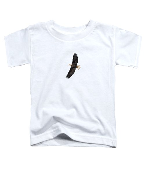 Isolated Bald Eagle 2018-5 Toddler T-Shirt