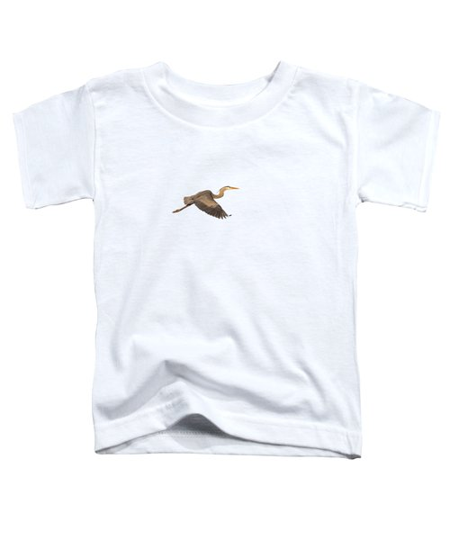 Isolated Great Blue Heron 2019-1 Toddler T-Shirt