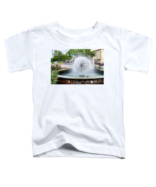 James Brown Blvd Fountain - Augusta Ga Toddler T-Shirt