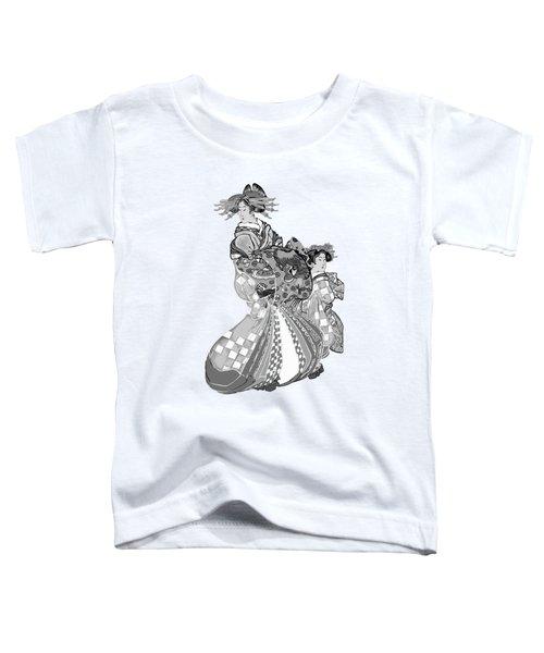 Japanese Women Toddler T-Shirt