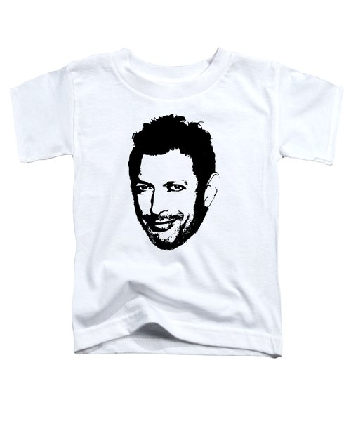 Jeff Goldblum Minimalistic Pop Art Toddler T-Shirt