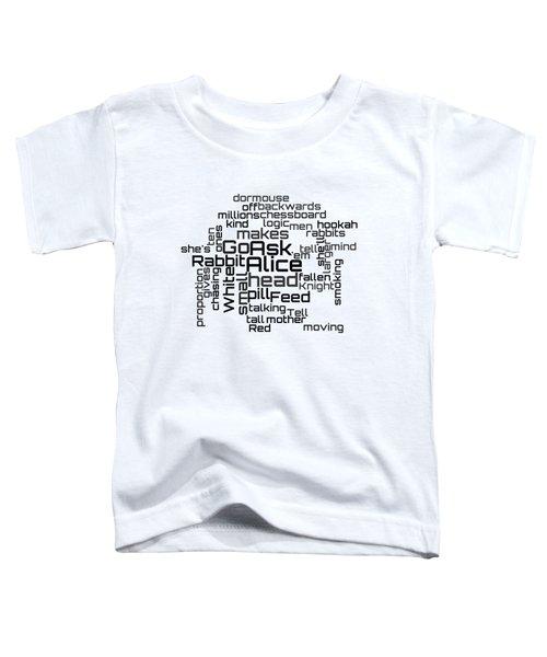 Jefferson Airplane - White Rabbit Lyrical Cloud Toddler T-Shirt