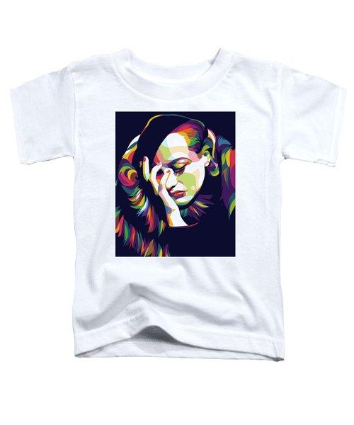 Joan Crawford Toddler T-Shirt