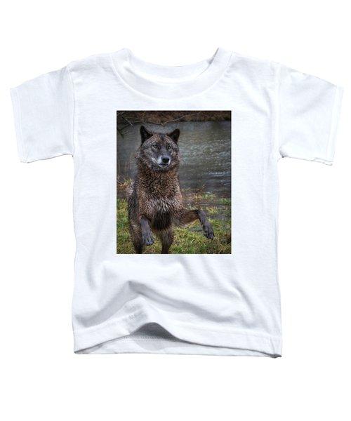 Jumping Boy Toddler T-Shirt