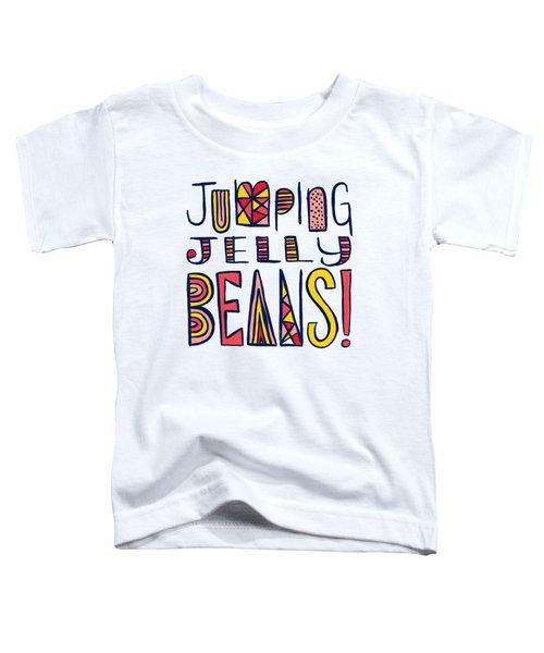 Jumping Jelly Beans Toddler T-Shirt