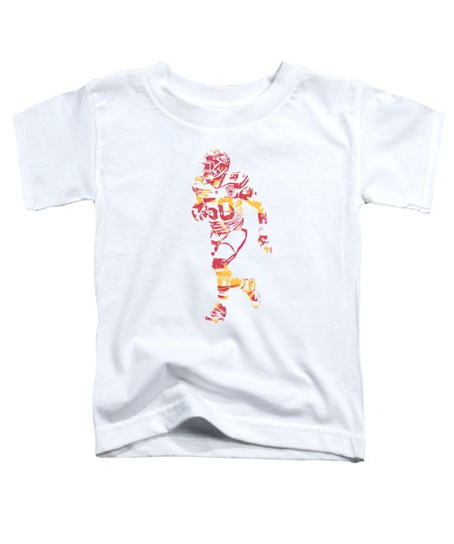 Justin Houston Kansas City Chiefs Apparel T Shirt Pixel Art 1 Toddler T-Shirt