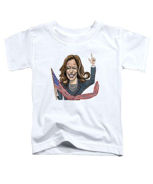Kamala Harris  Toddler T-Shirt