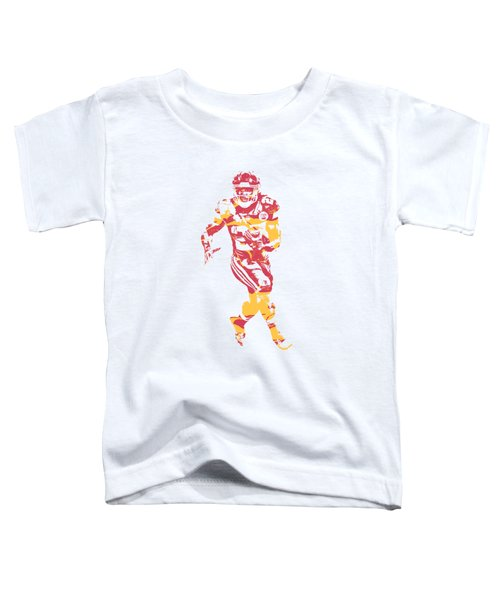 Kareem Hunt Kansas City Chiefs Apparel T Shirt Pixel Art 2 Toddler T-Shirt