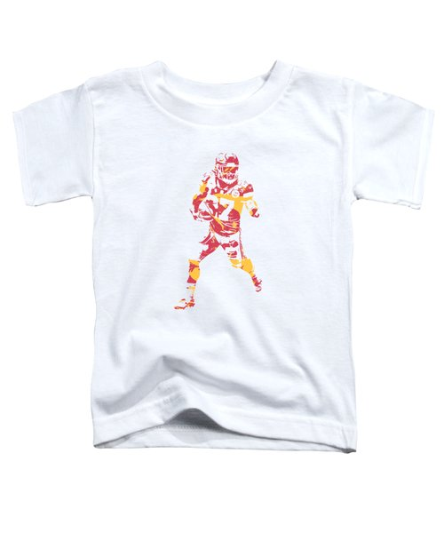 Kareem Hunt Kansas City Chiefs Apparel T Shirt Pixel Art 3 Toddler T-Shirt