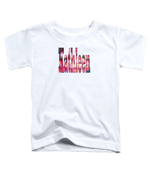 Kathleen Toddler T-Shirt