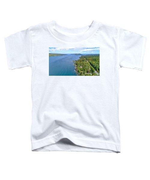 Keuka Center Point Toddler T-Shirt