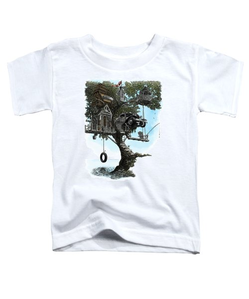 Lake Front Dream House Toddler T-Shirt