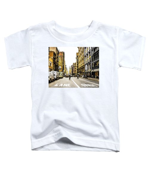 Lane Only  Toddler T-Shirt