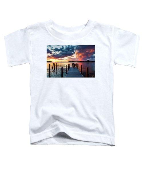 Late Summer Storm. Toddler T-Shirt
