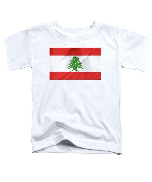Lebanon Flag Toddler T-Shirt