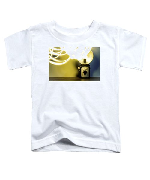 Lights, Camera, Action Toddler T-Shirt