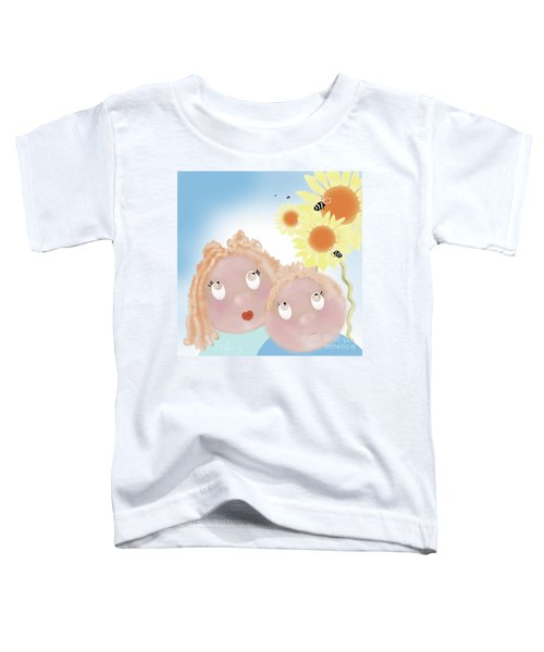 Little Ms And Bro Toddler T-Shirt