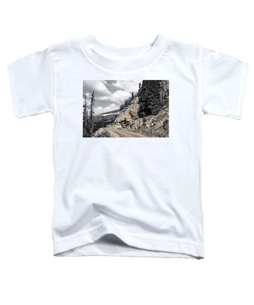 Living On The Edge Toddler T-Shirt