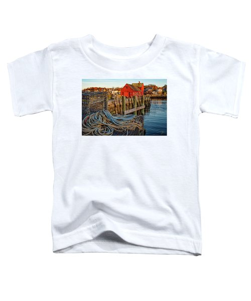 Lobster Traps And Line At Motif #1 Toddler T-Shirt