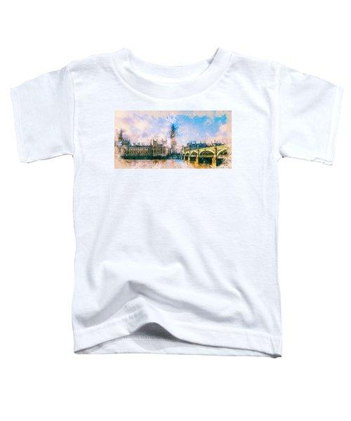 London, Big Ben Toddler T-Shirt