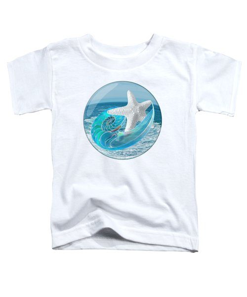 Lost In A Daydream - Floating On The Ocean Toddler T-Shirt