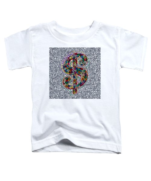 Louis Vuitton Dollar Sign-5 Toddler T-Shirt