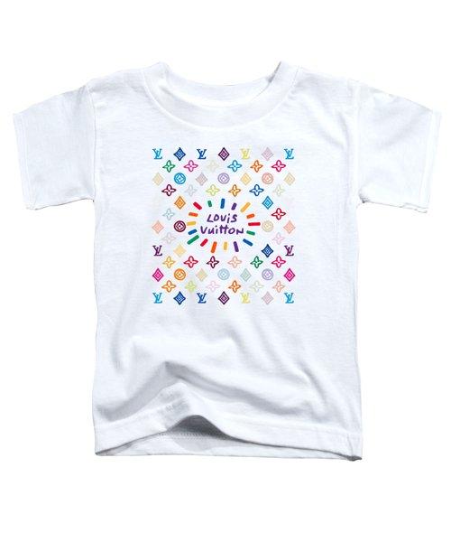 Louis Vuitton Monogram-10 Toddler T-Shirt