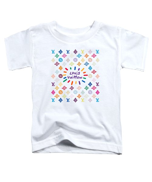 Louis Vuitton Monogram-10 Toddler T-Shirt