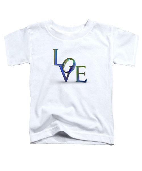 Love Lettering Bubble Film Toddler T-Shirt