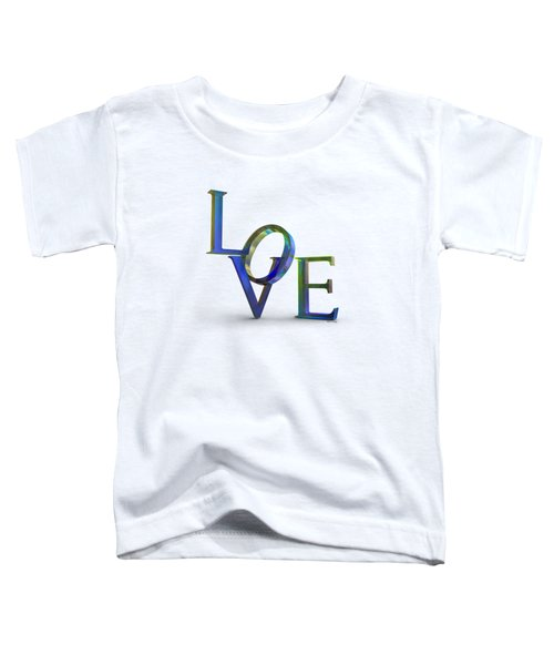 Love Lettering Bubble Film Toddler T-Shirt