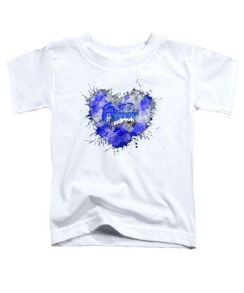 Love San Francisco Toddler T-Shirt