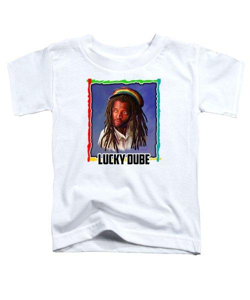 Lucky Dube Toddler T-Shirt