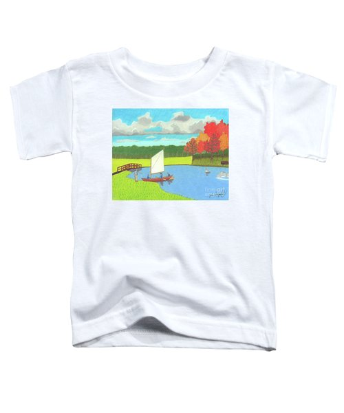 Testing The Waters Toddler T-Shirt