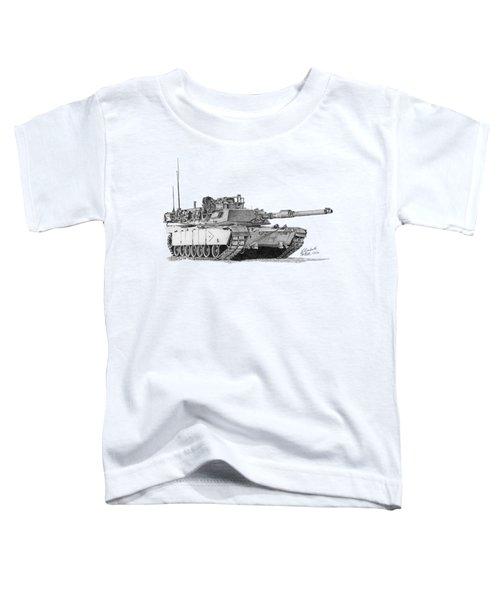 M1a1 B Company Xo Tank Toddler T-Shirt