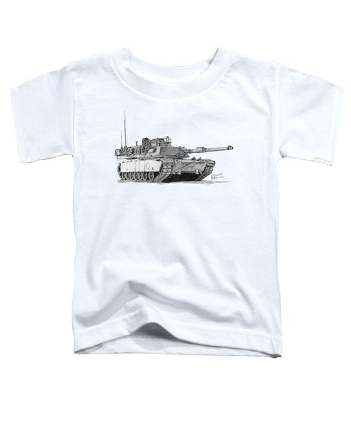 M1a1 Battalion Commander Tank Toddler T-Shirt