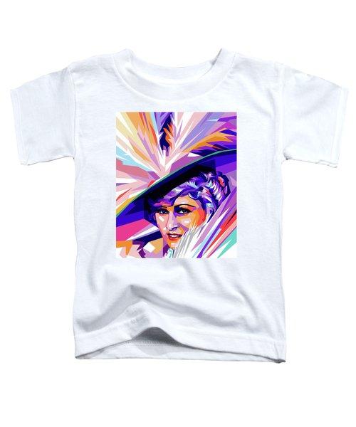 Mae West Pop Art Toddler T-Shirt