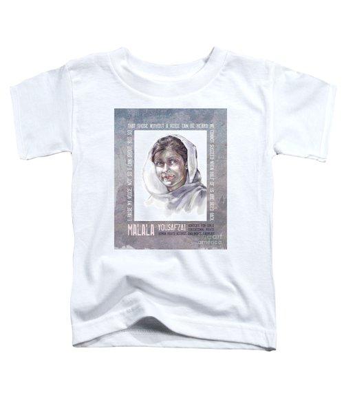 Malala Toddler T-Shirt