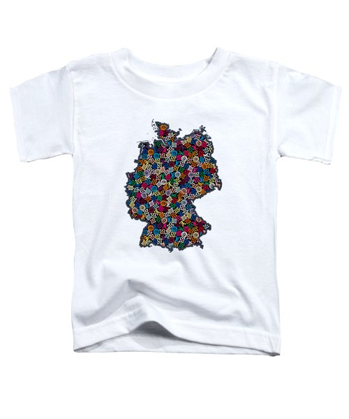 Map Of Germany-1 Toddler T-Shirt