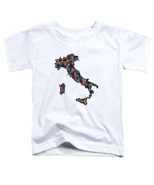 Map Of Italy-1 Toddler T-Shirt