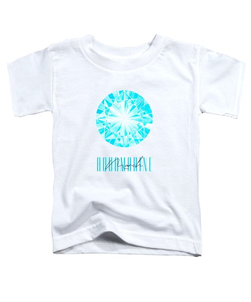 March Birthstone - Aquamarine Toddler T-Shirt