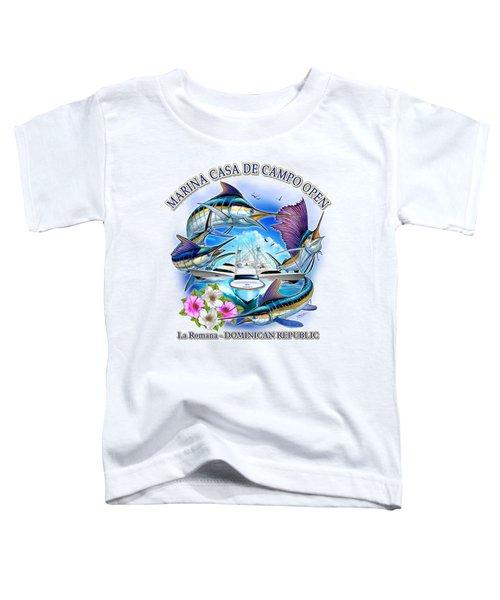 Marina Casa De Campo Open Art Toddler T-Shirt