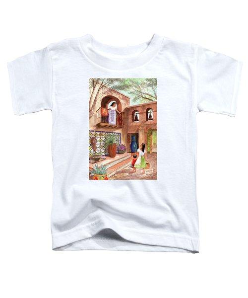 Market Day El Mercado Toddler T-Shirt