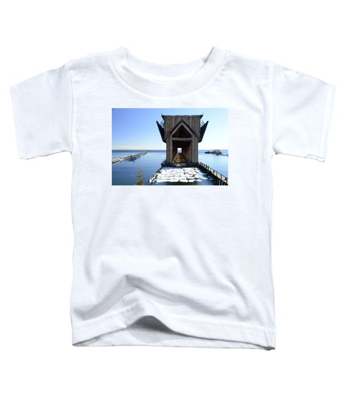 Marquette Ore Dock Cathedral Toddler T-Shirt