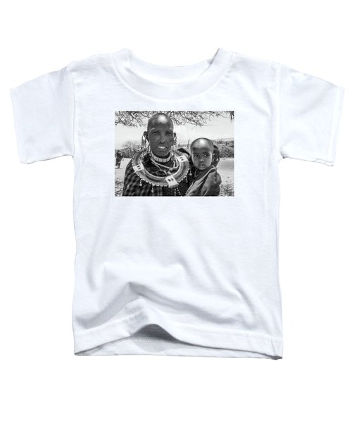Masaai Mother And Child Toddler T-Shirt