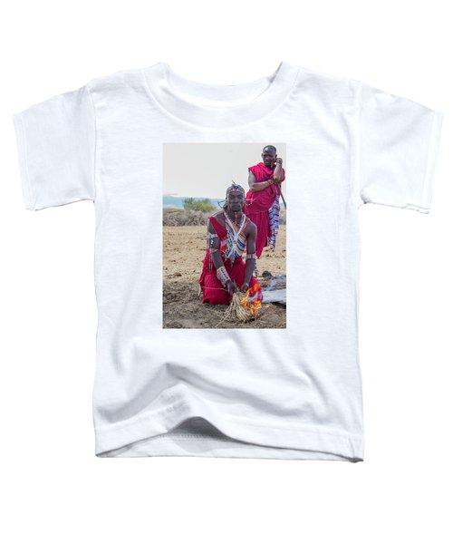 Maasai Warrior Toddler T-Shirt