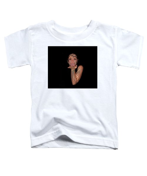 Mask Beautiful Aj Toddler T-Shirt