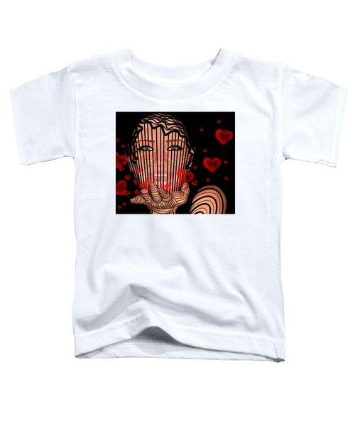 Mask Of Valentine Toddler T-Shirt