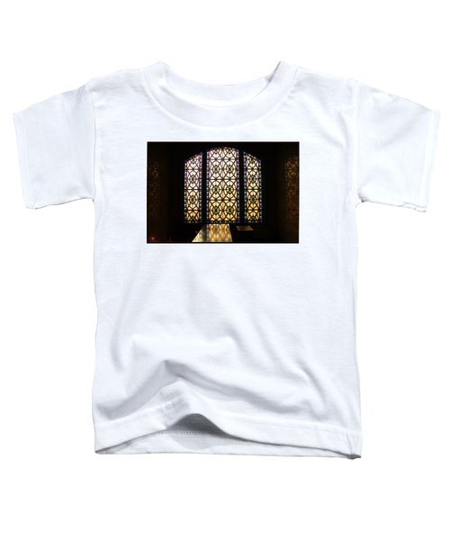 Mausoleum Stained Glass Toddler T-Shirt