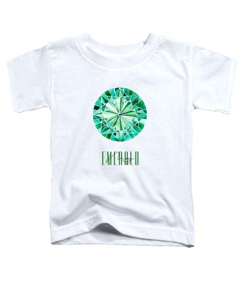 May Birthstone - Emerald Toddler T-Shirt