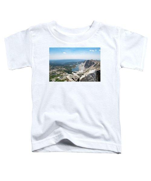 Medicine Bow Peak Toddler T-Shirt